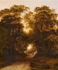 landscape near castelgandolfo by giambattista bassi