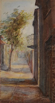 a side street by alice ravenel huger smith