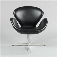 the swan (model 3320) chair by arne jacobsen