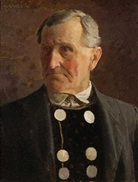herrenportrait by adolf reich
