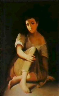 a peasant girl by sergei konstantinovich zaryanko