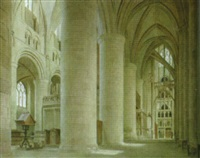 gloucester cathedral by anton van anrooy
