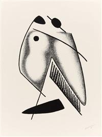les formes vivantes (portfolio of 10) by alexander archipenko