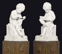 l'enfant lisant (+ another; 2 works) by lemire