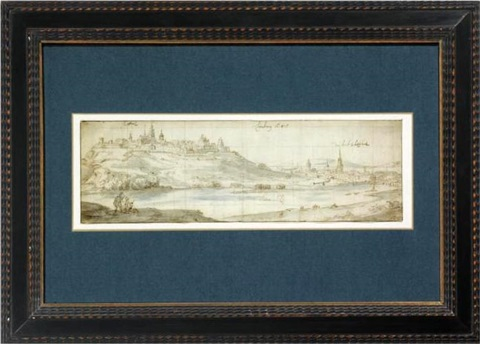 view of limburg by jan peeters the elder