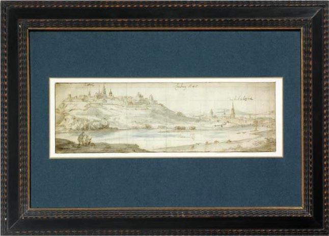 view of limburg by jan peeters the elder