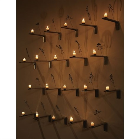 shadows from the lessons of darkness in 20 parts by christian boltanski