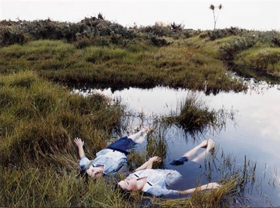 grassland drifters by justine kurland