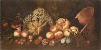 frutta, zucca e rame by italian school-roman (17)