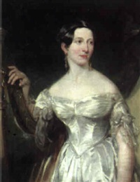 portrait of marguerite, countess of blessington (1789-1849) by george clint