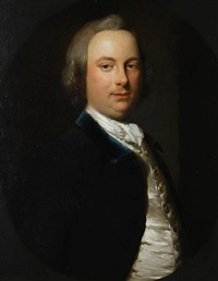 portrait of sir henry erskine, 5th baronet, father of james, second earl of rosslyn by frans van der myn