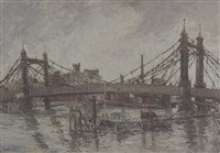 battersea bridge by george hann