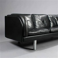 free-standing three-seater sofa (model ej 20-3) by jörgen gammelgaard
