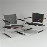 stokke chair (pair) by jens quistgaard