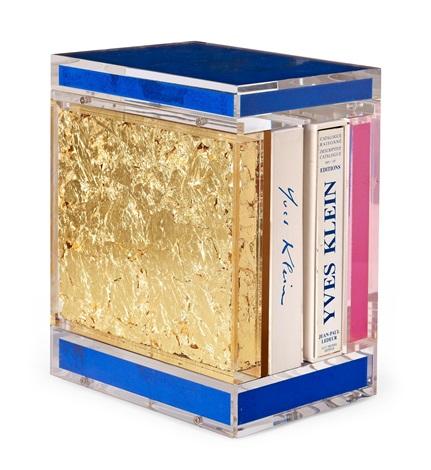 catalogue raisonné des éditions et sculptures, coffret objet - edition de luxe guy pieters 2000 by yves klein
