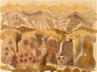 ohne titel (landschaft) by eduard bargheer