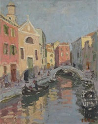 a venetian backwater by edward le bas