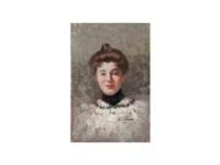 retrato de dama by andres gimeno