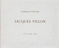 jacques villon (portfolio of 8 w/text by lionello venturi) by jacques villon