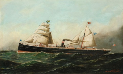 the advance at sea by antonio jacobsen