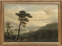 a view of eridge park, tunbridge wells, kent by j. j. gegan