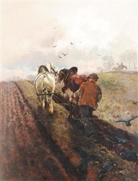 the plough team by william woodhouse