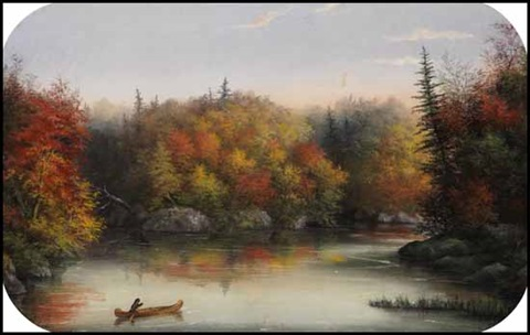 lake saratoga by alfred worsley holdstock