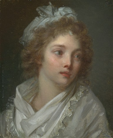 portrait of a young lady by elisabeth louise vigée le brun