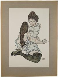handzeichnungen (portfolio w/15 works) by egon schiele