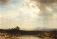 oberbayerische landschaft by dietrich langko