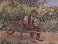 the gardener by charles alphonse goldie