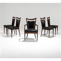 dining chairs (set of 5) by erno fabry