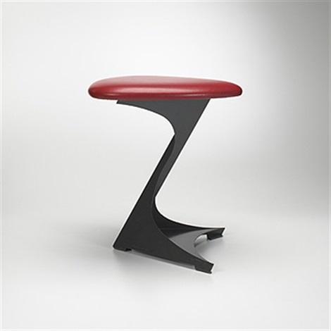 stool from the tabourettli theatre by santiago calatrava