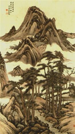 landscape by xia jingguan