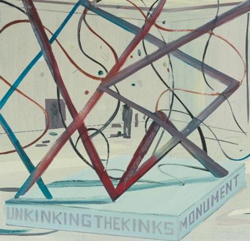 unkinking the kinks by jules de balincourt