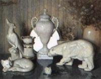 nature morte aux objects de porcelaine by jean-joseph enders