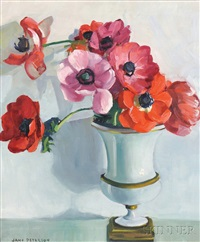 anemones by jane peterson