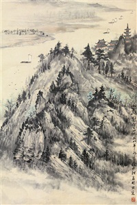 山水 by xu beiting