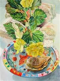 begonia by janet fish