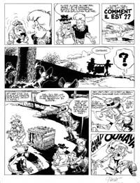 l'enfant à la horde, planche n°35 by christian godard
