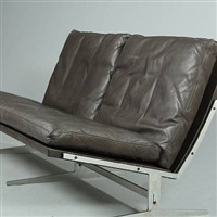 two seater sofa (model bo-562) by jorgen kastholm and preben fabricius