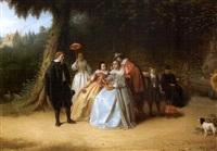compagnie galante au parc by johannes christoffel vaarberg