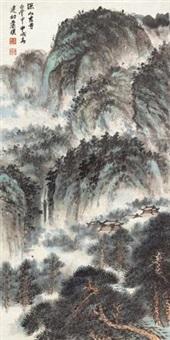 深山古寺白云中 by xiao jianchu