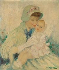 mère et enfant by marguerite aers