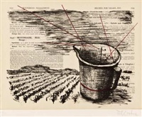 mrs beaton's household management (jug) by william kentridge