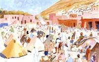 marché d'imi-n'tanout, haut atlas by pierre lissac