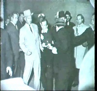 jack ruby shooting lee harvey oswald at a dallas police   station by robert h. (bob) jackson