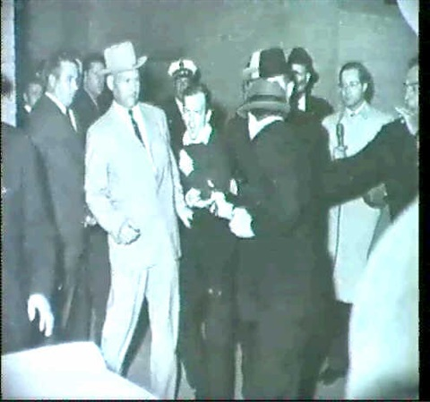 jack ruby shooting lee harvey oswald at a dallas police station by robert h bob jackson
