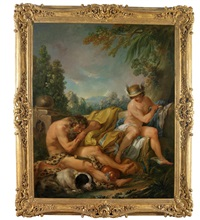 hermes überlistet argus by françois lemoyne