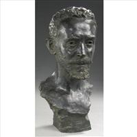 bust of piotr ilyich tchaikovsky by leopold bernhard bernstamm